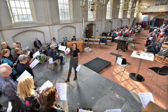 Groesbeek, 18-2-2018Pop-zangmiddag in de protestantse kerk.Foto: Flip Franssendgfoto editie nijmegen185887