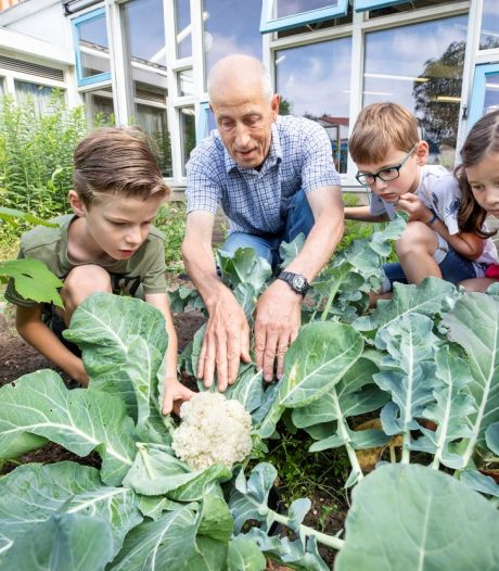 De schoolmoestuin is (weer) hot