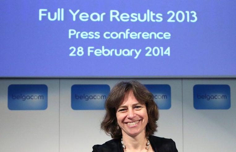 De nieuwe CEO van Belgacom Dominique Leroy lijkt haar stempel te willen drukken op het bedrijf. Beeld REUTERS