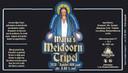 Maria's Meidoorn Tripel. 8% Frisse tripel, met bloesem van de meidoorn, de struik waar Handel uit is gegroeid.