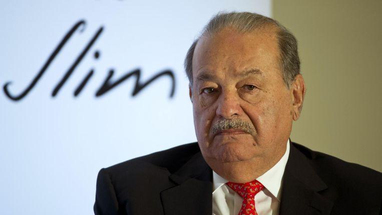 De Mexicaanse tycoon Carlos Slim. Beeld anp