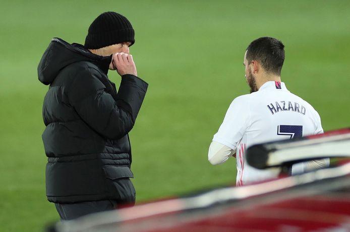 Zidane en Hazard.
