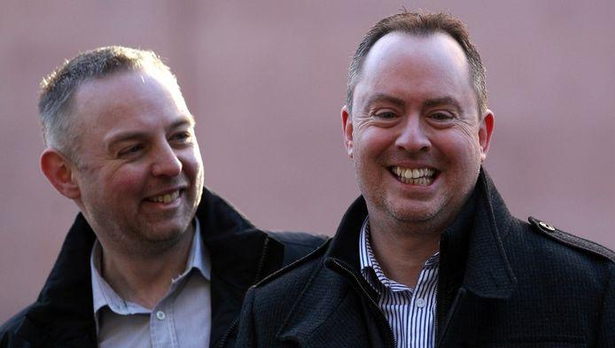 Steven Preddy et Martyn Hall