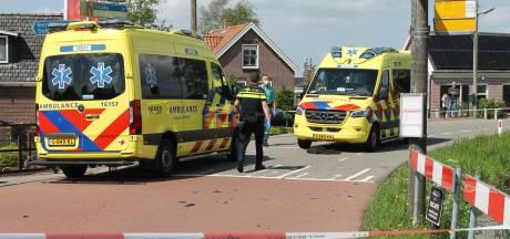 Scooterrijder gewond bij botsing met auto in Vlist