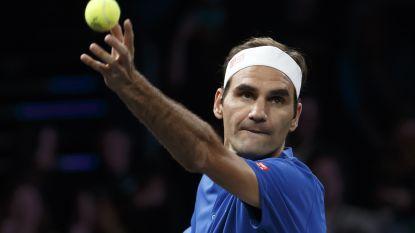 VIDEO. Team Europa leidt met 7-5 in Laver Cup, onder andere dankzij zege Federer tegen Kyrgios