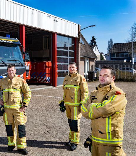 Vier man sterk als eerste bij de grote Peelbrand: 'We hadden al gezien dat we het veld in konden vluchten'