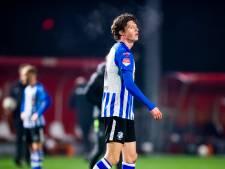 David Janssen, zoon van NEC-icoon Anton, debuteert in het profvoetbal