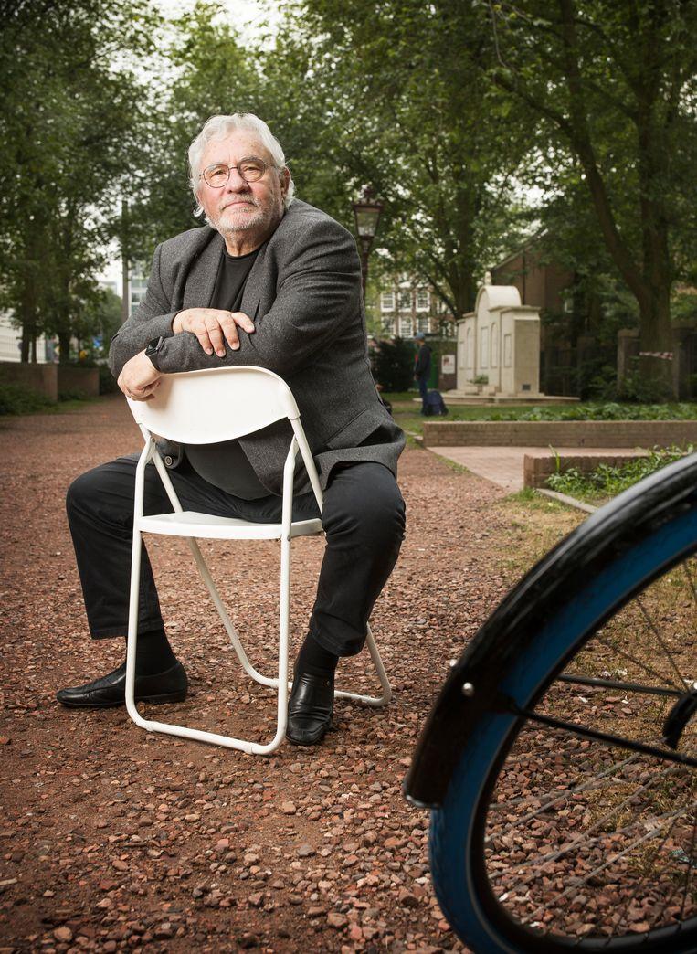 Jacques Grishaver op de Klapstoel Beeld Harmen De Jong
