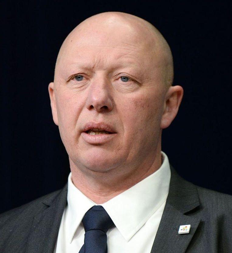 Burgemeester Hans Bonte van Vilvoorde.