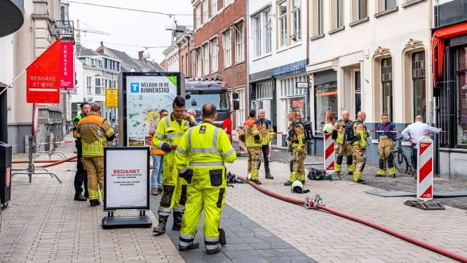 Sissend geluid in de Willem II Straat Tilburg: woningen en winkels ontruimd door gaslek