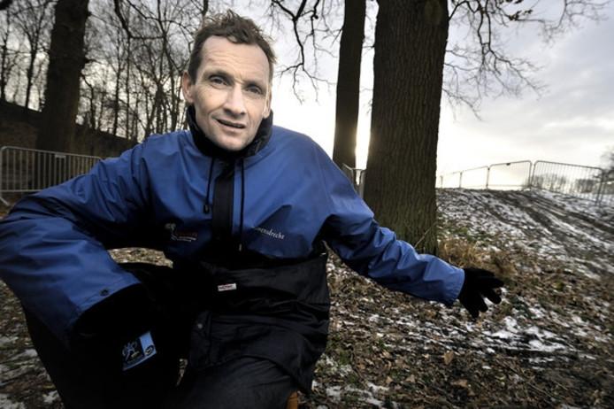 Adrie van der Poel bouwt al vanaf 2001 vol overgave aan veldrijdparcoursen