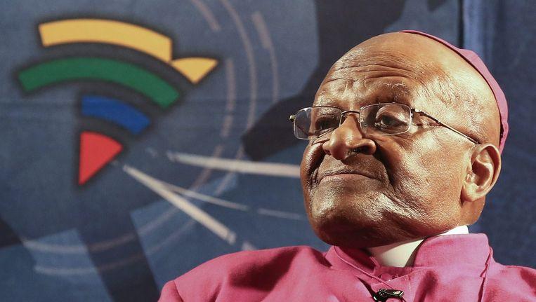 Oud-aartsbisschop Desmond Tutu. Beeld epa