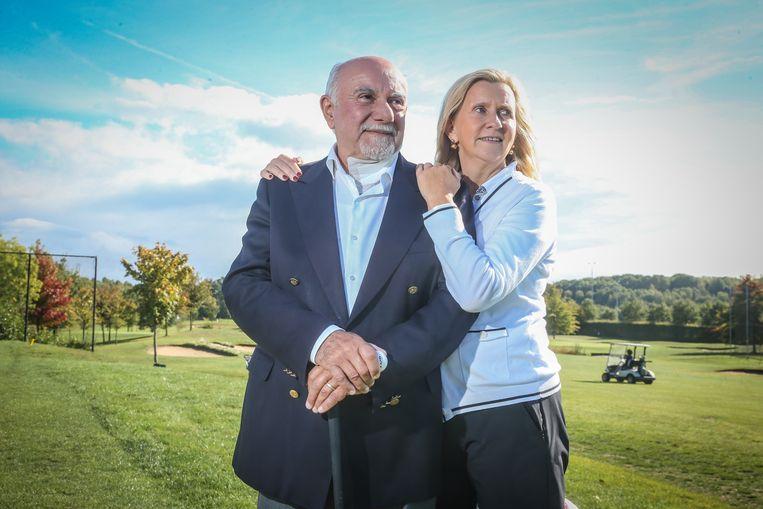 Hartspecialist Pedro Brugada en zijn vrouw Christine.