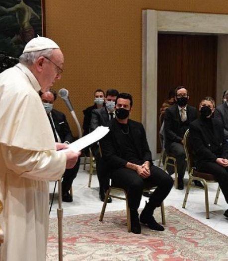 Dotan ontmoet de Paus in het Vaticaan: 'Het leek alsof ik in een film zat'