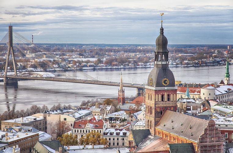 Riga, de hoofdstad van Letland. Beeld thinkstock