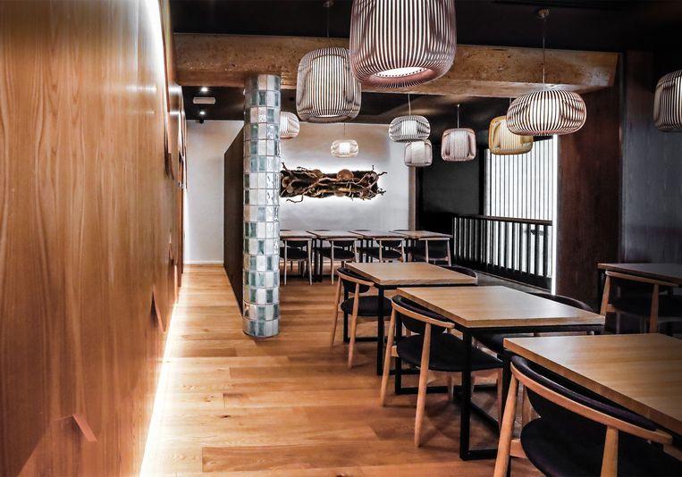 Het Brusselse sushirestaurant Samouraï. Beeld RV