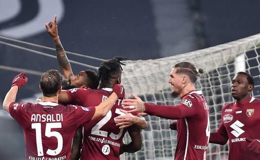 Torino viert de 0-1.