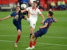 Luuk de Jong doet met Sevilla ook mee in Spaanse titelstrijd: 'Er gaat nog genoeg gebeuren'