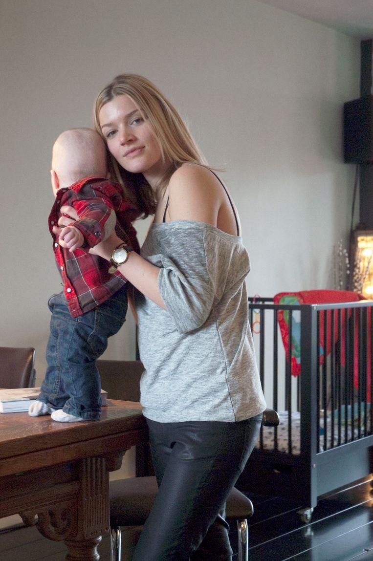 Alexandra met Karel in 2011. Beeld Raimond Wouda