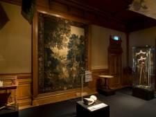 Achttiende-eeuws wandkleed uit Stedelijk Museum Kampen wordt ingevroren en gerestaureerd