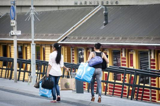25 juli 2013. De laatste prostituees verlaten het Zandpad, dat vanaf die dag gesloten is.