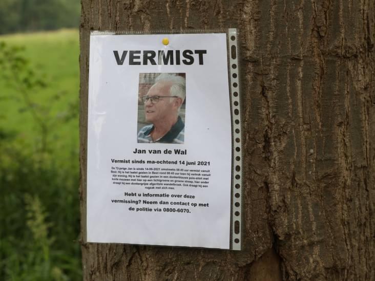 Weer grote zoektocht naar vermiste Jan van de Wal (72) uit Best