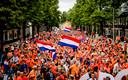 Twee jaar geleden tijdens de huldiging van de Oranje Leeuwinnen na het winnen van het EK.