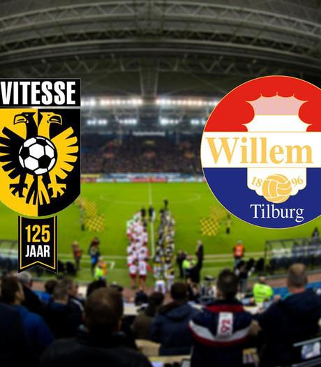 Vitesse ontvangt Willem II in GelreDome