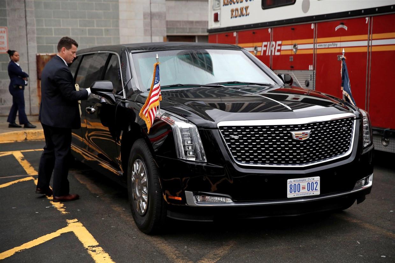 'The Beast' is het officiële vervoermiddel van president Joe Biden.