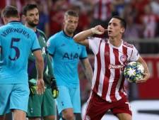 Olympiakos toont veerkracht tegen effectief Tottenham