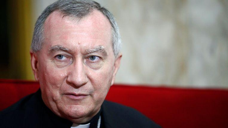 Pietro Parolin, de nieuwe staatssecretaris van het Vaticaan. Beeld REUTERS