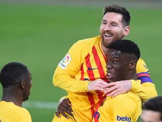Barcelona klaart de klus tegen Osasuna na twee assists van Messi