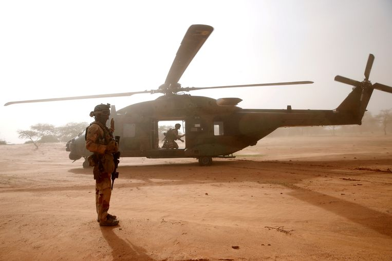 Frankrijk stuurde in 2013 een troepenmacht naar Mali. Beeld REUTERS