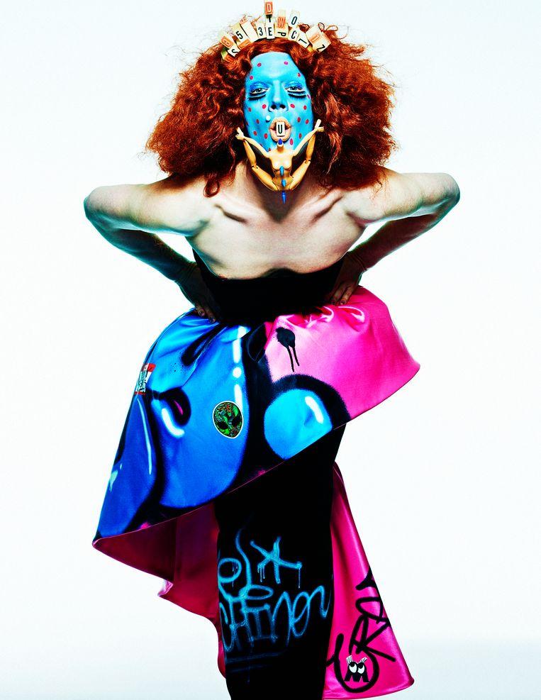 'Lyle XOX, make-upartiest'. Beeld Phillipe Vogelenzang