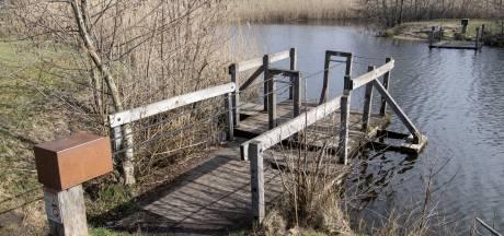 Vandalisme bij Haaksbergse vijver gaat maar door: de zwaluw komt al niet meer nestelen