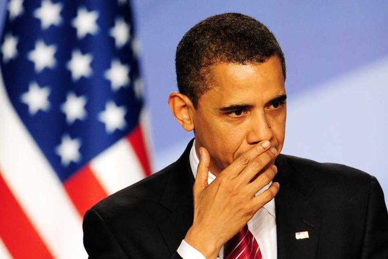 Barack Obama (AFP) Beeld