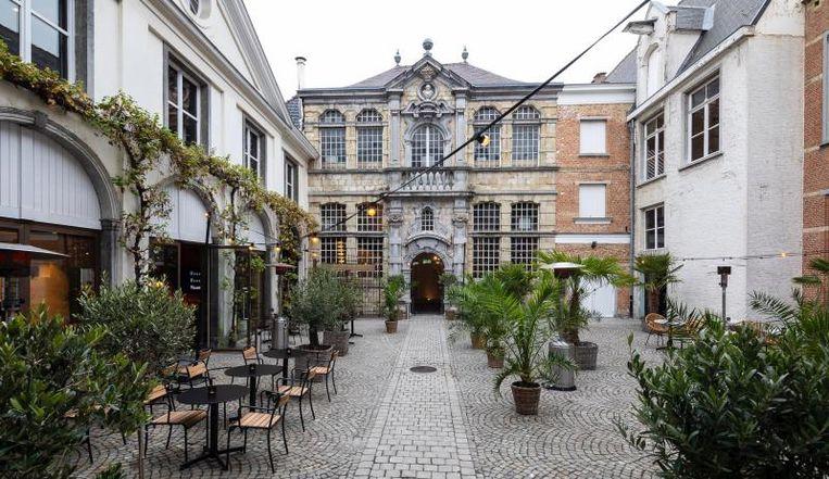 De eventlocatie is gevestigd in de voormalige woning van de 17de-eeuwse schilder Jacob Jordaens. Beeld RV