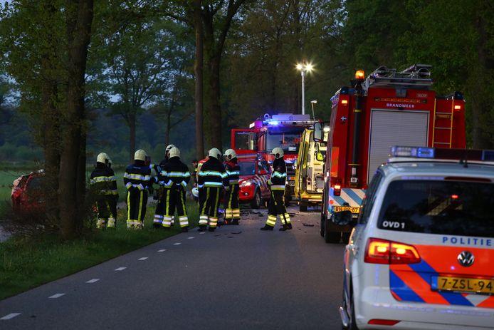 Bij het ongeluk in Oirschot zijn twee doden gevallen.