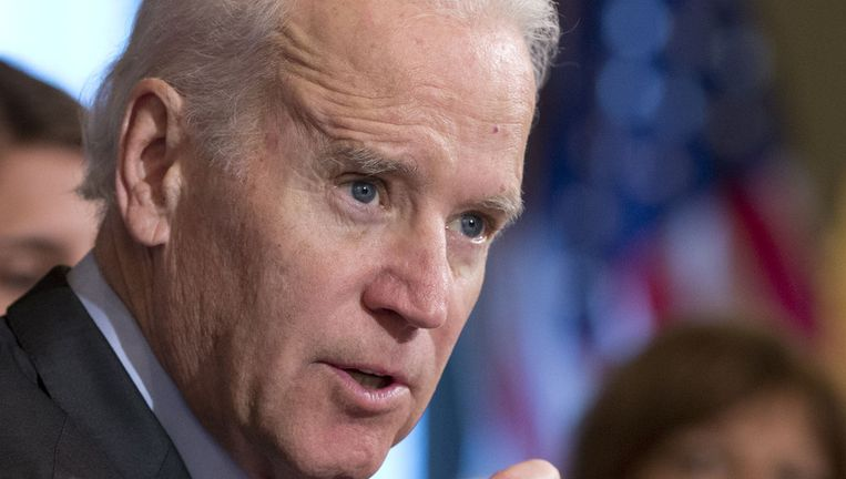 De Amerikaanse vicepresident Joe Biden Beeld ap