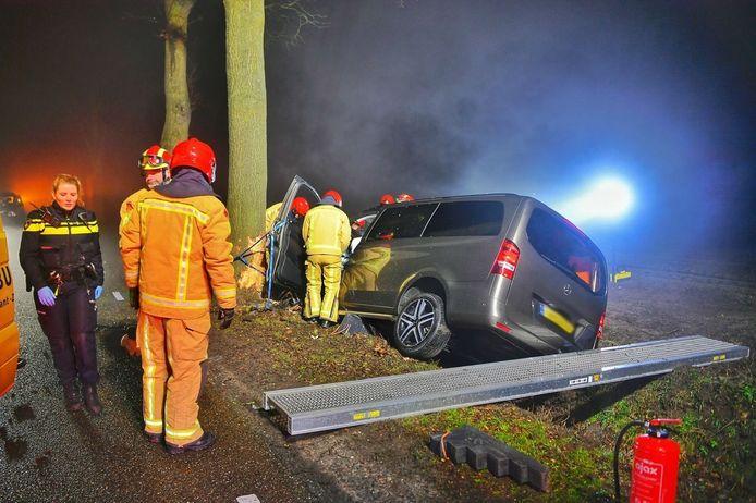 Ongeval in Bergeijk.