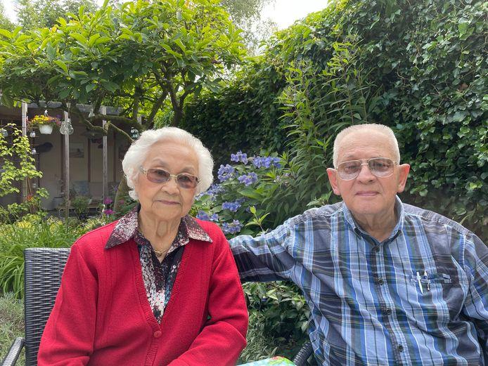 Trees Amade en Eelco Wichers uit Den Bosch waren afgelopen weekend 65 jaar getrouwd.