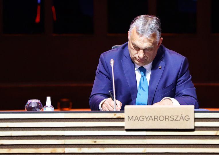 Viktor Orban.  Beeld EPA