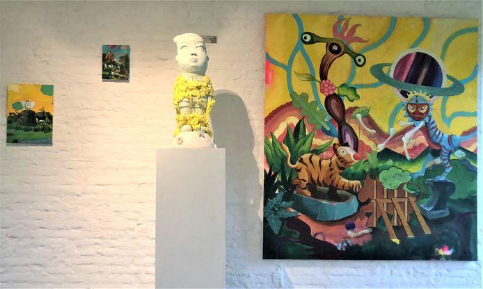 Groepsexpo van Japanse, Italiaanse en Belgische makelij in Verduyn Gallery.