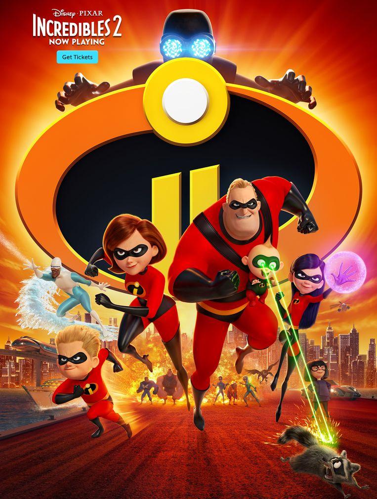 'Incredibles 2'. Beeld rv