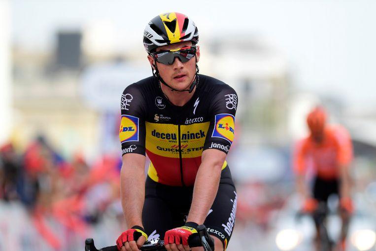 Yves Lampaert. Beeld Photo News
