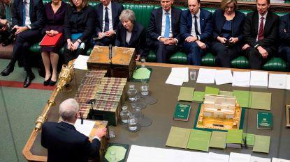 Britse premier May overleeft vertrouwensstemming