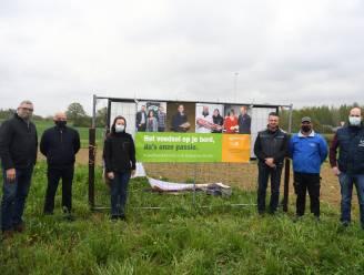 Landbouwers dreigen ruimte te verliezen door project Brabantse Wouden, dus start Boerenbond spandoekenactie