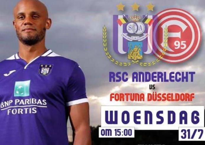 RSC Anderlecht komt naar Maasmechelen.