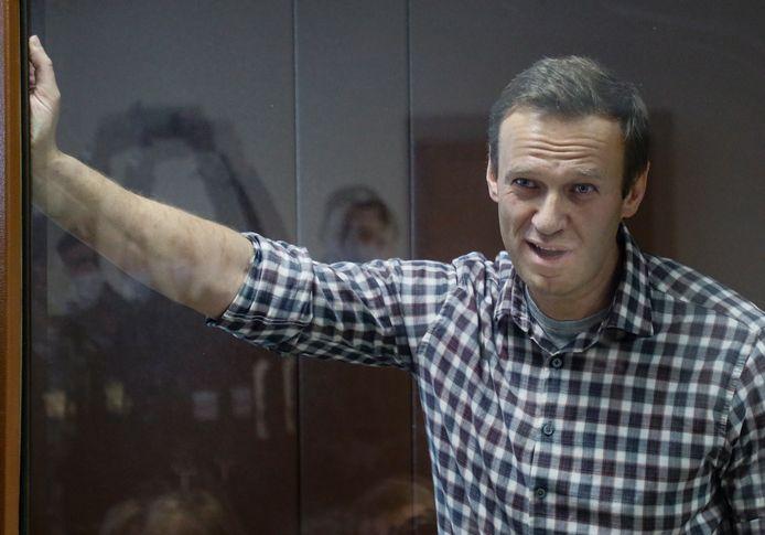 Alexey Navalny moest normaal nog twee jaar en acht maanden van zijn gevangenisstraf uitzitten. Daar gaan nu zes weken af.