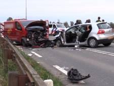 Politie zoekt chauffeur van bietenwagen na ongeluk in Bant
